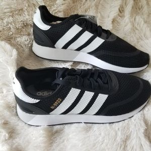BNIB Men's Black Adidas N-5923, Sz 9 1/2